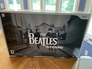 Nintendo Wii The Beatles: Rock Band Limited Edition Bundle Drum Set Kit w/ Game