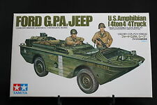 XD068 TAMIYA 1/35 maquette voiture amphibie 35043 500 Ford GPA jeep US amphibian