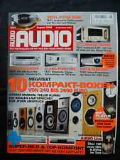 AUDIO 8/04  ACCUPHASE A 60,PRO-JECT RPM 6SB/9,ROKSAN RADIUS 5/NIMA,AUDIO CYRUS 6