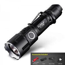 KLARUS XT11GT 2000LM Taktische CREE XHP35 LED USB Wiederaufladbare Taschenlampe
