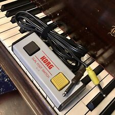 Korg S-2 Dual Foot Switch for Kr55 Drum Machines - Clean