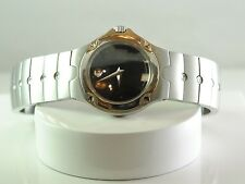 Movado Sport Edition 84 G4 1851 Women's Black Dial Stainless Steel Analog Watch