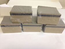 500 Gold PVC Cards - HiCo Mag Stripe 2 Track - CR80 .30 Mil for ID Printers