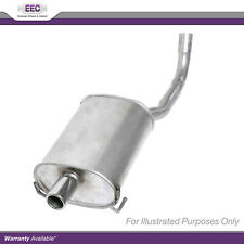 Fits Audi A3 8L1 1.8 T Genuine EEC Exhaust Pipe Back Box Rear End Silencer