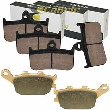 FRONT and REAR BRAKE PADS Fits HONDA VTR1000F Superhawk 1000F 1998-2005