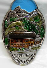 Preintalerh used badge stocknagel hiking medallion mount G5216