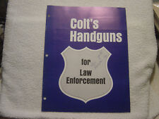 COLT LAW ENFORCEMENT 1967 CATALOG