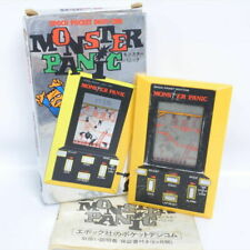 LCD MONSTER PANIC Boxed Heldheld Epoch Pocket Digit-Com LSI Game Watch 0211