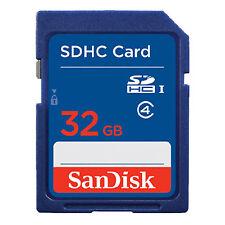 32GB SanDisk SD Class 4 Secure Digital Standard Memory Card Wholesale ME