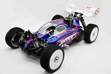 UPDATED! HYPER SS RTR 1/8 BUGGY NITRO W/28 TURBO ENGINE (BLUE BODY) (LLJSTORE)