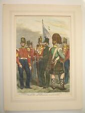 """TROOPS FOR THE WAR. """" BRITISH INFANTRY """" 1854."""