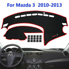 Car Dashboard Cover Dash Cover Mat Pad Custom Fit for Mazda Model 3 2010-2013 (Fits: Mazda)