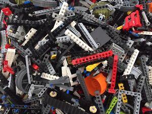 LEGO Technic - 250g of Spare Parts Random Pieces Axles Gear Job Lot Bundle Clean