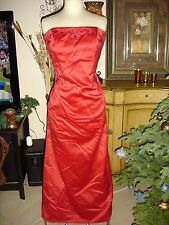 Scott McClintock Red Formal Bridesmaid Prom/Pageant/Party Dance/Drag Dress 14W