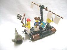 Lego Set 6257 Pirates Castaway's Raft 1989 Complete