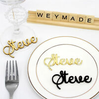Personalised Wedding Place Name, Place Setting, Table Setting, Laser Cut Names