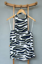 The Fifth Label Animal Print Backless Halter Top Clubbing Party BNWT Small UK 8