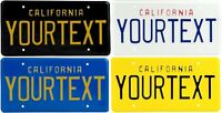 Retro Vintage California US License Plate USA Alu Embossed Custom without boxes