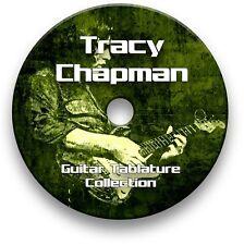 TRACY CHAPMAN ROCK GUITAR TAB TABLATURE SONG BOOK ANTHOLOGY TUITION SOFTWARE CD