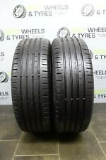 2x 205 60 16 Tyres (205/60 R16) Continental Conti 96V **5MM!** Run Flat Tyres!!