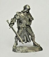 1/32 Beast Hunter Tin Metal Soldier Fantasy Warrior Assassin Figure 54mm NEW