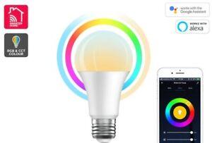 Kogan SmarterHome™ 10W Colour & Warm/Cool White Smart Bulb (E27, Wi-Fi)