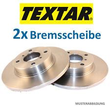 2x Bremsscheibe 2 Bremsscheiben Voll 982000621 98200062101 TEXTAR 92062100