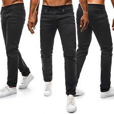 Ripped/frayed Herren-Jeans mit regular Länge in normaler Größe