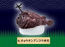 Re-Ment Deep Sea Creature Gourmet Sushi Sashimi Replica Anglerfish Footballfish