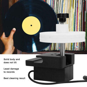 Vinyl Record Cleaner Rack Rotating Adjustable Power Audio Accessories Ultrasonic