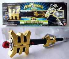 RARE VINTAGE 1997 POWER RANGERS GOLDEN POWER STUFF GOLDEN RANGER BANDAI NEW MIB!