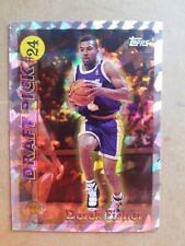 Derek Fisher 1996-97 Topps Draft Pick #DP24 Los Angeles Lakers Rookie Card RC