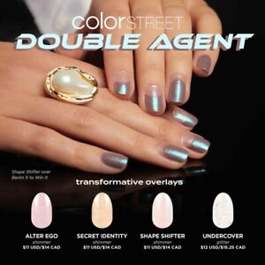 ✨💝 COLOR STREET DOUBLE AGENT OVERLAY NAIL STRIPS PRE-ORDER 💝✨