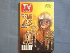 TV GUIDE STAR WARS PHANTOM MENACE MAY 15 1999 #1 ANAKIN SKYWALKER NATALIE PORTMA