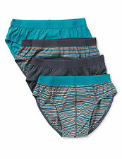 Marks and Spencer Striped Cotton Underwear for Men