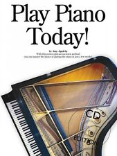 Play Piano Today Book and CD NEW 014025692