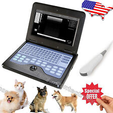 Vet Veterinary Portable Notebook Laptop Ultrasound machine Scanner Micro-convex