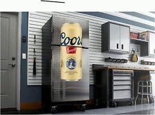 Coors Banquet Beer fathead wall sticker 4' dorm  man cave refrigerator
