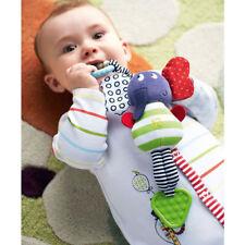 Tier Bell Baby Kuscheltiere Infant Musik Elefant Plüsch Puppe Kinderwagen Rattle