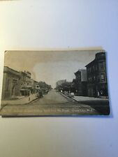 1900's Old Postcard Ocean City New Jersey Asbury Ave Near 8 Th Street Historical