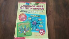 20 TOTALLY AWESOME...LANGUAGE ARTS BULLETIN BOARDS Scholastic NEW GR 4-8