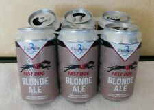 Derby Lane Greyhound Racing 6 Pack Empty Fast Dog Beer Can - Fast Shipping Free