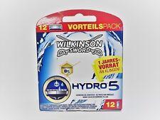12 x Wilkinson Sword HYDRO5 Rasierklingen Hydro 5 - 12er Pack - NEU & OVP