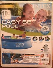 10 X 30 Intex Easy Set Swimming Pool W/ Filter. Fast Shipping!