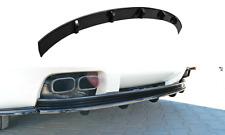 Cup Diffusor Ansatz für Alfa Romeo Brera Bj. 05-10 Stoßstangen Heck ABS SB