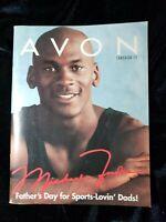 Vintage AVON Product MICHAEL JORDAN Catalogs Brochures Books(Campaign 13*1997)