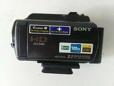 Sony HandyCam HDR-XR150 FULL HD 120GB HDD Hybrid Camcorder Untested