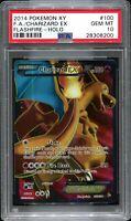 Pokemon Flashfire Full Art Charizard PSA 10 GEM MINT Pokemon Card Nintendo
