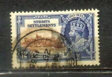 1935 Malaya Straits Settlements SilverJubilee 12c CV Rm 16