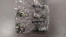 (2) Southco White Vise Action Latch E3-99-364-10 NEW